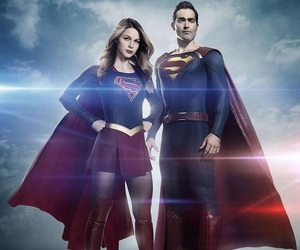Supergirl, superman, and melissa benoist image