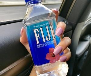 blue, fiji, and nails image