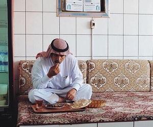 arab, eat, and arabian image