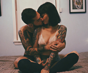 couple, goals, and Tattoos image