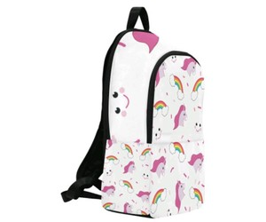 backpack, unicorn, and cute image
