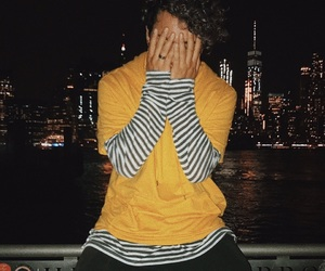 new york, instagram, and yellow image