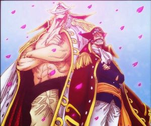 one piece, gold roger, and edward newgate image