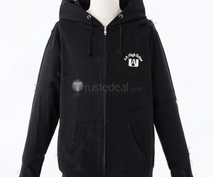 anime hoodie, boku no hero academia, and my hero academia image