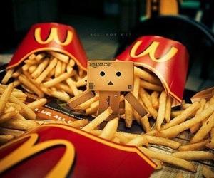 McDonalds, food, and danbo image