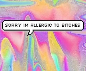 bitch, sorry, and quotes image