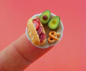 food, miniature, and tiny image