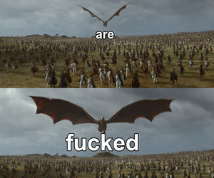 game of thrones, daenerys targaryen, and drogon image