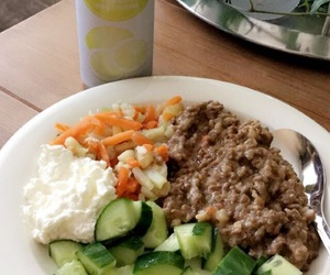 dinner, finland, and fitness image