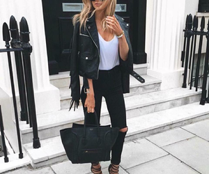 outfit, style, and black image
