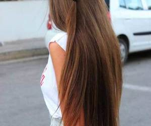 beauty, style, and hair image