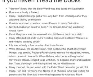 harry potter, tumblr, and spoiler alert image