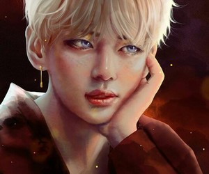 bts, taehyung, and fanart image