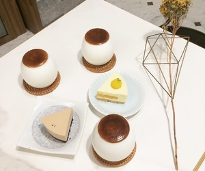 cake, cheesecake, and passion fruit image