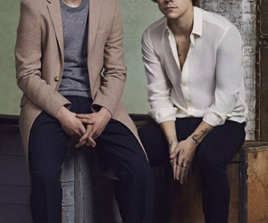 Harry Styles, dunkirk, and fionn whitehead image
