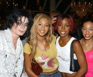 beyoncé, michael jackson, and kelly rowland image