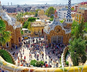 Barcelona, beautiful, and places image