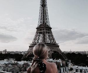 eiffeltower, france, and paris image