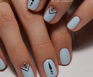nails, style, and tumblr image
