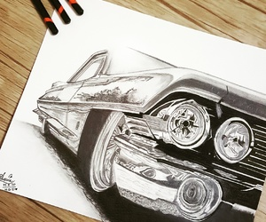 art, draw, and sketch image