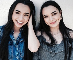 girls, smile, and twins image