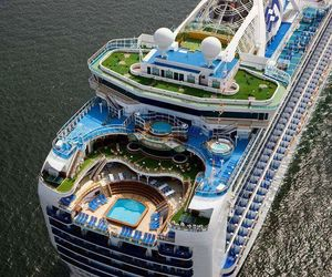 blue, luxury, and boat image