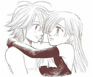 anime and meliodas ♡ elizabeth image
