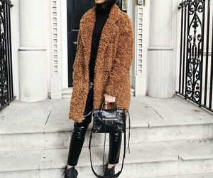 fall winter, fashion, and street style image
