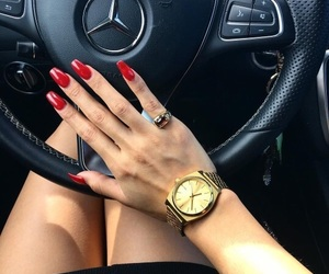nails, luxury, and red image