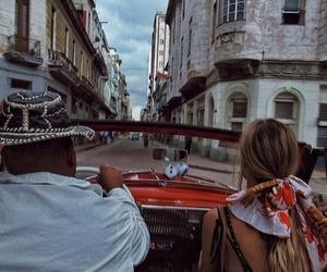 travel, car, and cuba image