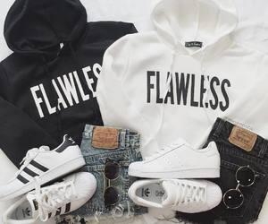fashion, adidas, and flawless image