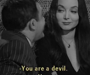 70's, Devil, and Morticia Addams image