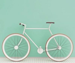 bike, bicycle, and pastel image