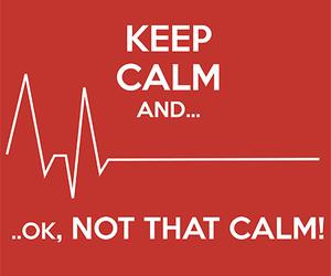 heart, keep calm, and medicine image