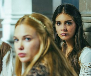 reign, caitlin stasey, and lady kenna image
