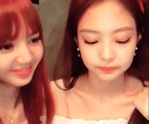 jennie, low quality, and vlive image