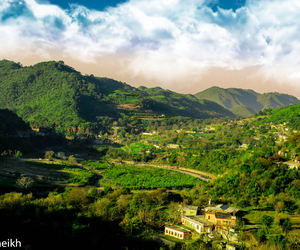 hills, islamabad, and murre image