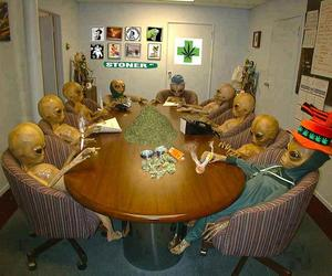 alien and weed image