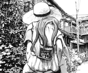 japan, 絵, and カップル image