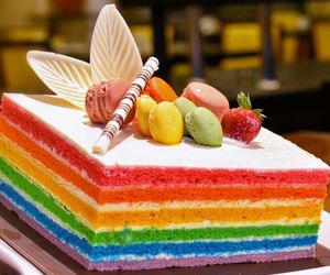 food, cake, and dessert image