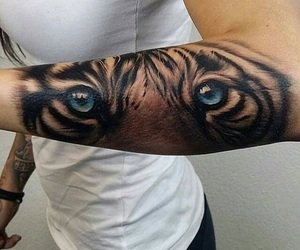 tattoo, tiger, and Tattoo Designs image