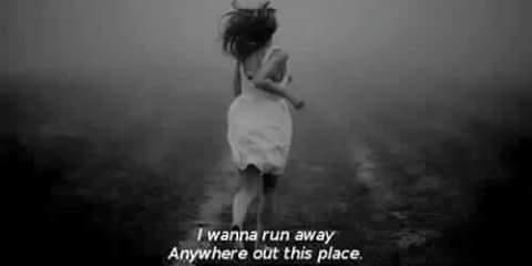 sad, run, and grunge image