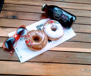 sunglasses, summer, and dounts image