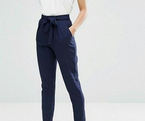 bow, classy, and trousers image