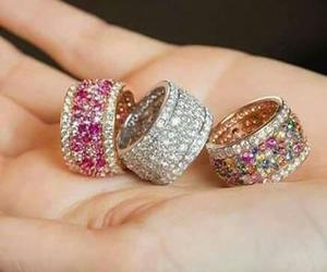 jewellery, rings, and cute image