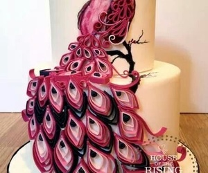 cakes, pink, and delicious image