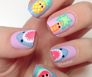 nails and shark image