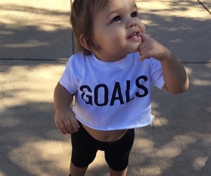 baby and goals image