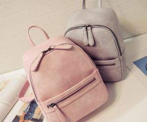 bag, fashion, and backpack image