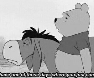 winnie the pooh, sad, and pooh image